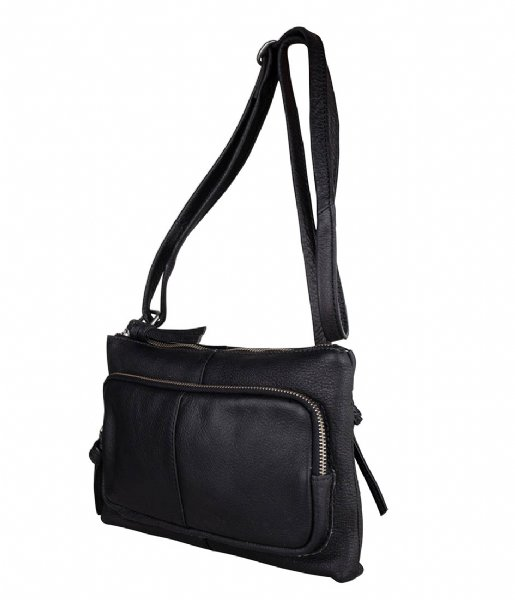 The Little Green Bag Crossbodytas Wren Crossbody Black (100)