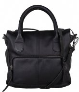 The Little Green Bag Yucca Handbag Black (100)