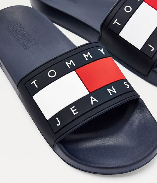 Tommy Hilfiger Slippers Tommy Jeans Flag Pool Twilight Navy (C87)