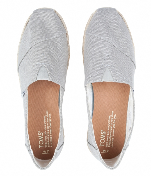 TOMS Espadrilles Classic Espadrilles Washed drizzle grey (10009754)