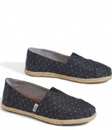TOMS Alpargata Chambray Rope black dot (10011653)