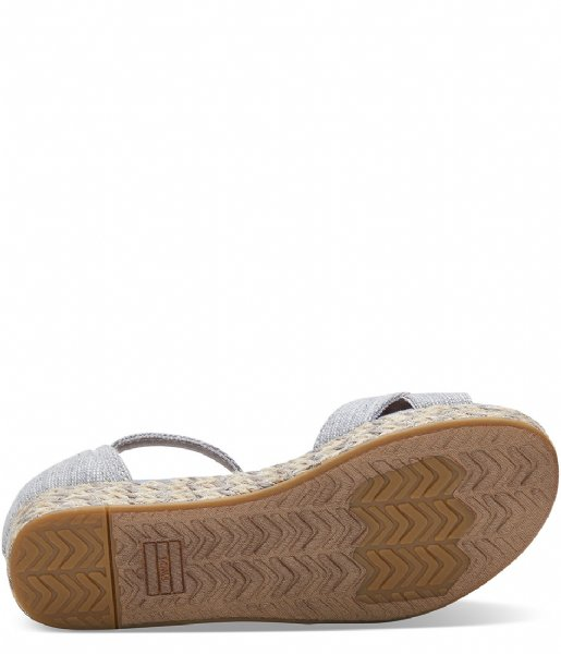 TOMS Espadrilles Textured Chambray Harper blended grey (10011537)