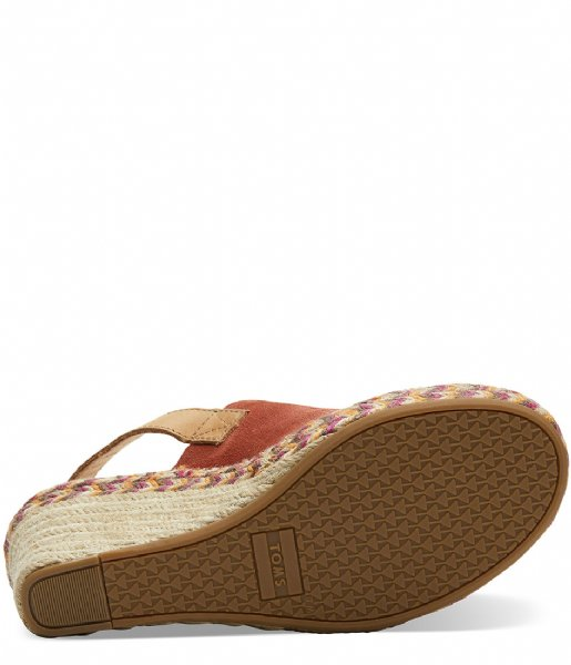 TOMS Sandalen Monica Suede red (10013450)