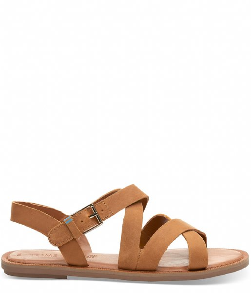 TOMS Sandalen Sicily Sandal tan leather (10013440)