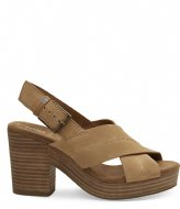 TOMS Honey Suede Sandals sand (10013590)