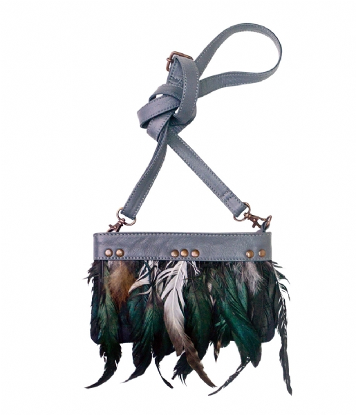 Unmade Copenhagen Crossbodytas Feather Crossbody grey (86)