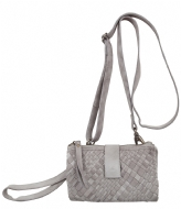 Unmade Copenhagen Braiding Clutchwallet light grey (84)