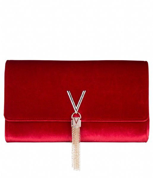 Valentino Handbags Crossbodytas Marilyn Clutch Velvet rosso