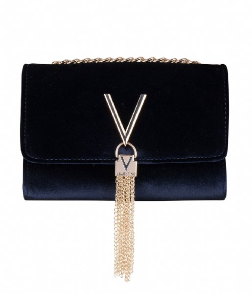 Valentino Handbags Crossbodytas Marilyn Clutch Velvet blu