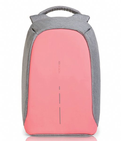 XD Design Anti-diefstal rugzak Bobby Compact Anti Theft Backpack coral pink (534)