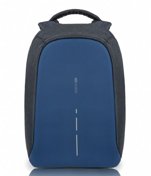 XD Design Anti-diefstal rugzak Bobby Compact Anti Theft Backpack 14 Inch diver blue (535)