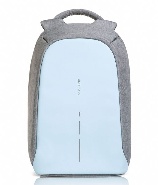 XD Design Anti-diefstal rugzak Bobby Compact Anti Theft Backpack 14 Inch pastel blue (530)