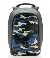 XD Design Bobby Compact Anti Theft Backpack camouflage blue (655)