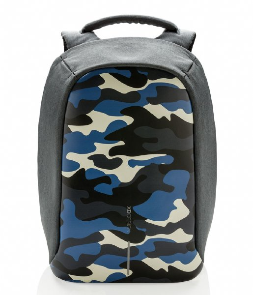XD Design Anti-diefstal rugzak Bobby Compact Anti Theft Backpack 14 Inch camouflage blue (655)