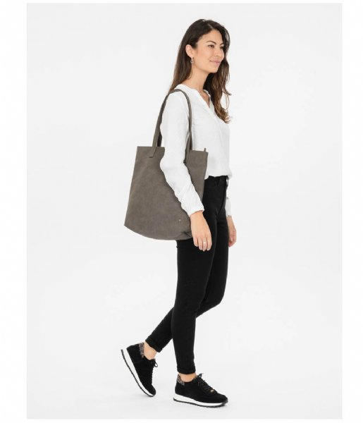 Zusss Shopper Basic Shopper taupe