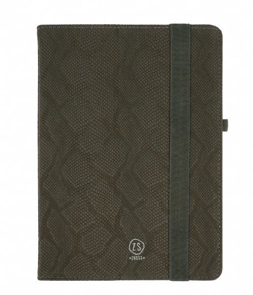 Zusss Smartphone cover iPad hoes snake groen