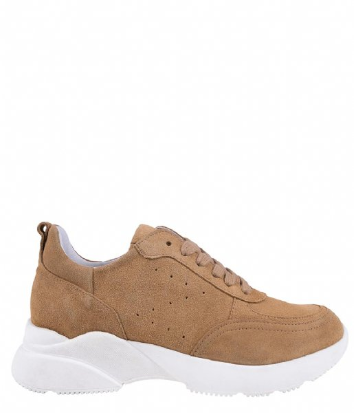 Zusss Sneakers Gave Sneaker light brown