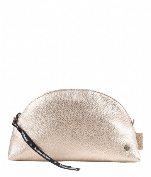 Zusss Make-up tas Make-Up Tasje goud metallic