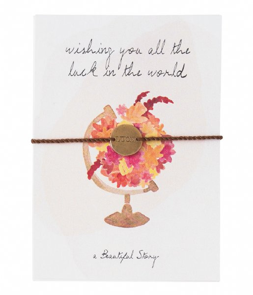 A Beautiful Story Armband Jewelry Postcard World world (JP00032)