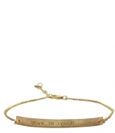 A Beautiful Story Flow Earth Gold Bracelet gold plated (20333)