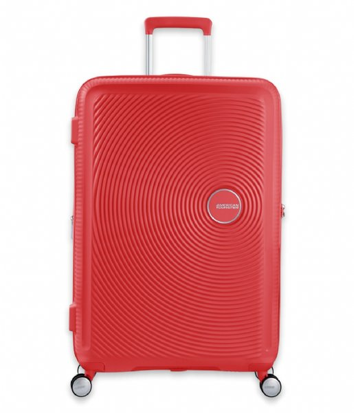 American Tourister Reiskoffer Soundbox Spinner 77/28 Expandable Coral Red (1226)