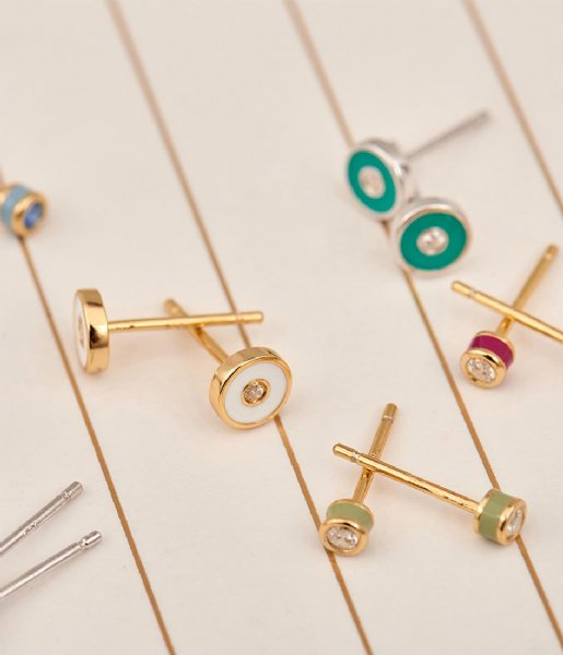 Ania Haie Oorbellen Bright Future Earring Gold plated