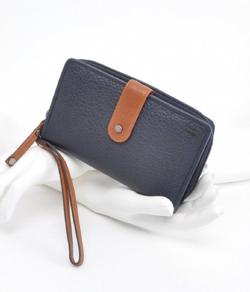 Berba Ritsportemonnee Ladies wallet L Navy (07)