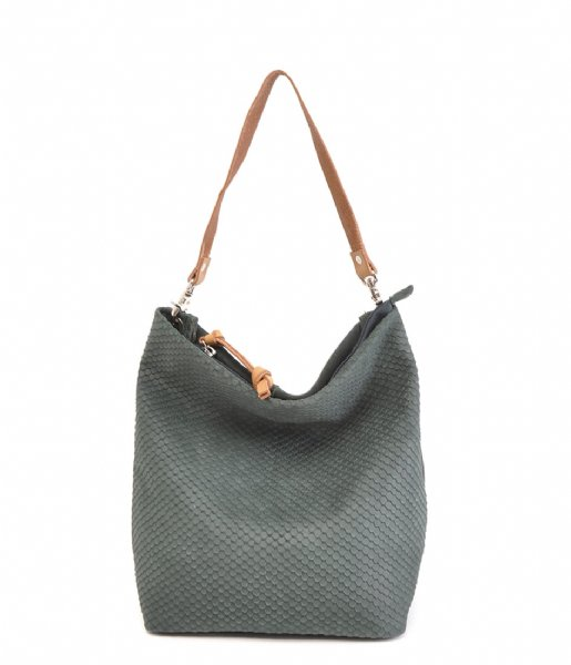 Berba Schoudertas Hobo L Bottle green (54)