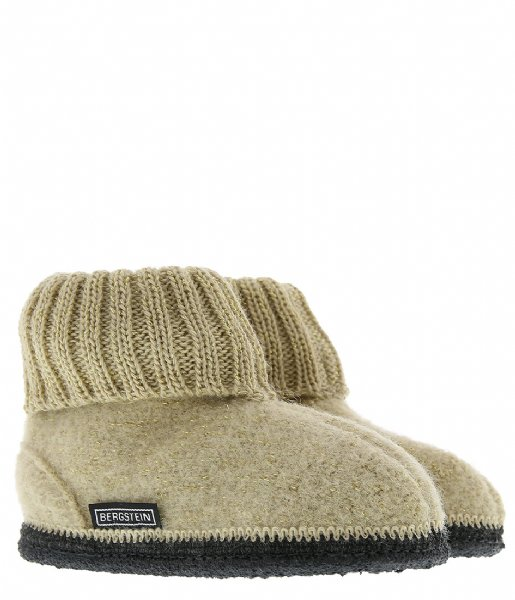 Bergstein Pantoffels Bergstein Cozy Glam gold colored (899)