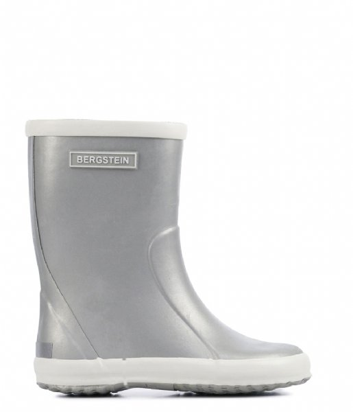 Bergstein Regenlaarzen Bergstein Rainboot Glam silver colored (299)