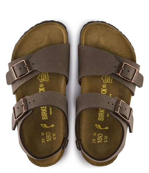 Birkenstock Sandalen New York Kids BFBC Narrow mocha