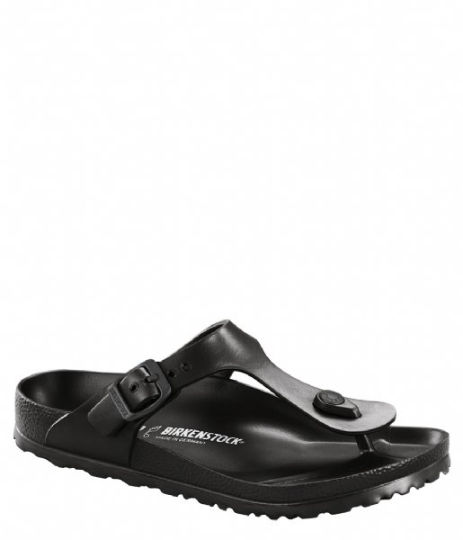 Birkenstock Slippers Gizeh Kids EVA narrow Black