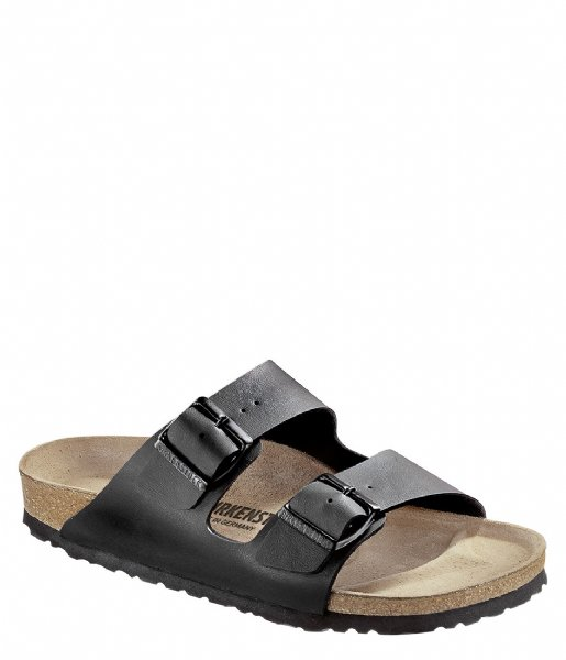 Birkenstock Slippers Arizona narrow Birko-Flor Zwart