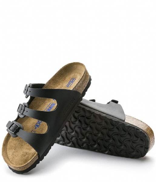 Birkenstock Slippers Florida SFB BF Schwarz Narrow Black