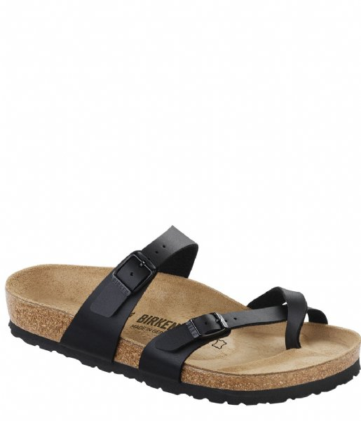 Birkenstock Slippers Mayari regular Birko-Flor Black