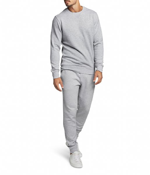 Björn Borg Nachtmode & Loungewear Tapered Pant Centre H108BY light grey melange (90741)