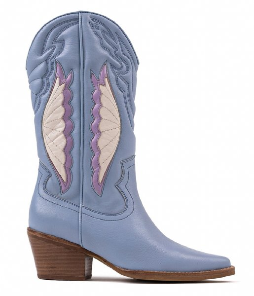 Bronx Cowboylaars Jukeson Ankle Boot Retro Blue Lilac (3441)