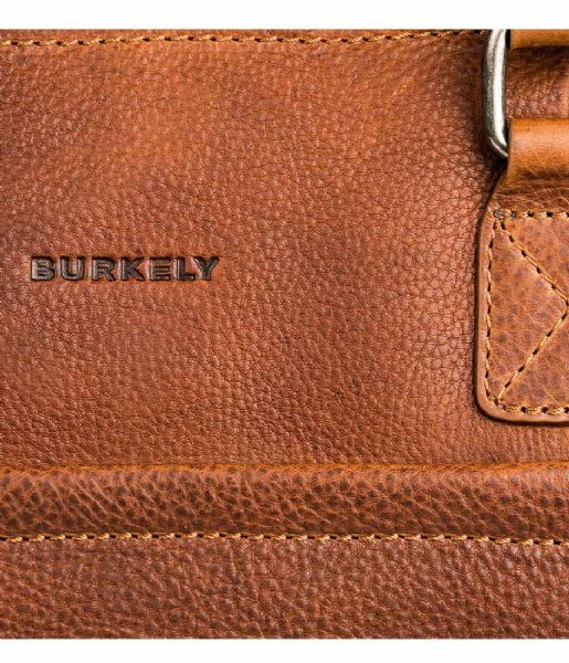 Burkely Laptop schoudertas Burkely Antique Avery Laptopbag 1-Zip 15.6 Inch cognac (24)