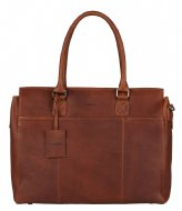 Burkely Burkely Antique Avery Laptopbag 1-Zip 15.6 Inch cognac (24)