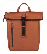 Burkely Rain Riley Backpack Rolltop 14 Inch Corroded Cognac (24)