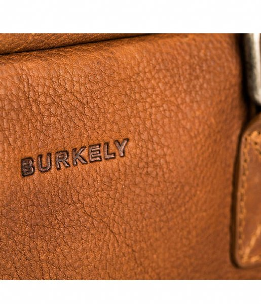 Burkely Laptop schoudertas Burkely Antique Avery Workbag 15.6 Inch cognac (24)