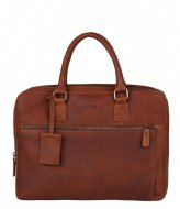 Burkely Burkely Antique Avery Laptopbag 13.3 Inch cognac (24)