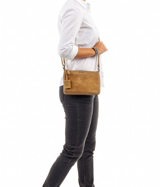 Burkely Crossbodytas Antique Avery Crossover Taupe (25)