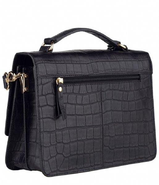 Burkely Handtas Citybag Croco Black Croco (10)