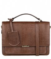 Burkely Citybag Dark brown armadillo (20)