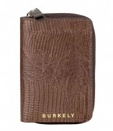Burkely Wallet S Dark brown armadillo (20)