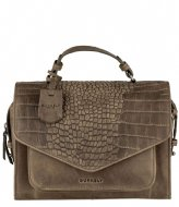 Burkely Burkely Croco Cody Citybag dark green (74)