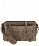 Burkely Burkely Croco Cody Minibag dark green (74)