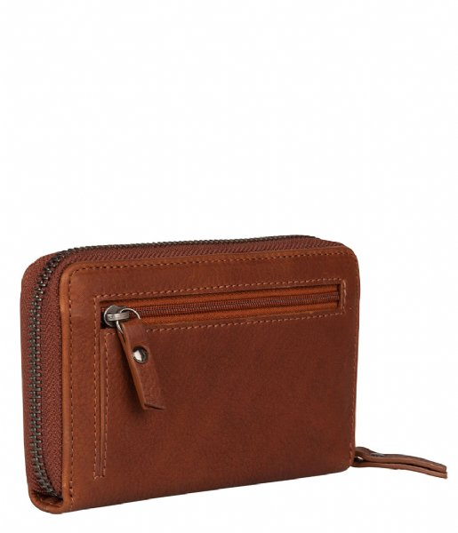 Burkely Ritsportemonnee Antique Avery Wallet M cognac (24)