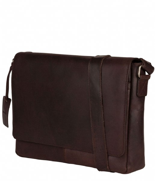Burkely Schoudertas Vintage Juul Messenger Bag brown (20)